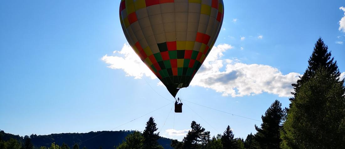 Anchored balloon flights