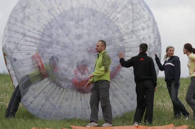 Airball a zorbing