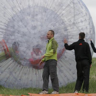 Airball and zorbing